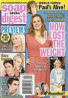 Soap Opera Digest July 31, 2007