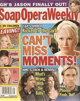 Soap Opera Weekly July 31, 2007