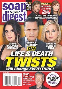 Soap Opera Digest July 31, 2017