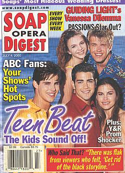 Soap Opera Digest - July 4, 2000
