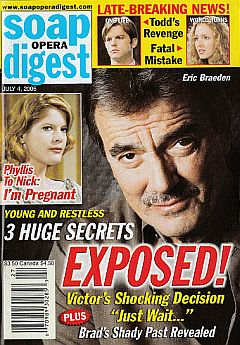 Soap Opera Digest July 4, 2006