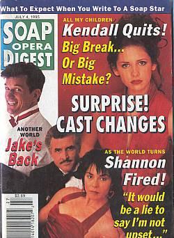 Soap Opera Digest - July 4, 1995