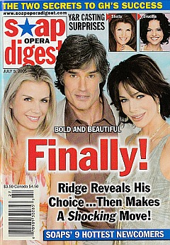 Soap Opera Digest July 5, 2005
