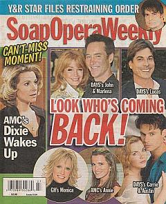 Soap Opera Weekly - July 5, 2011