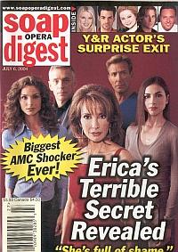 Soap Opera Digest July 6, 2004