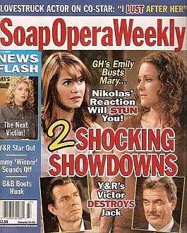 Soap Opera Weekly July 6, 2004