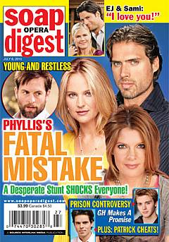 Soap Opera Digest July 6, 2010