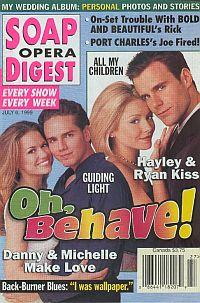 Soap Opera Digest - July 6, 1999