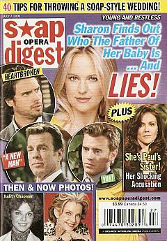 Soap Opera Digest July 7, 2009