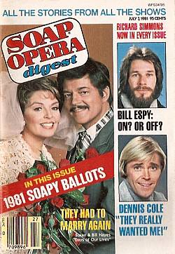July 7, 1981 issue of Soap Opera Digest