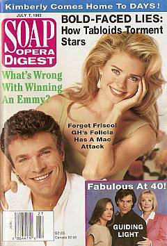 Soap Opera Digest July 7, 1992