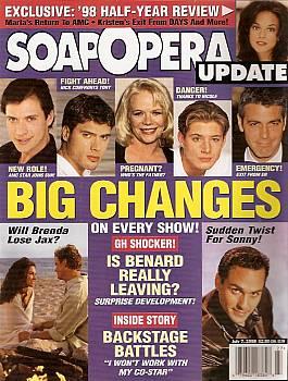 Soap Opera Update July 7, 1998