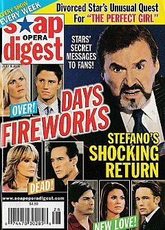 Soap Opera Digest July 8, 2008
