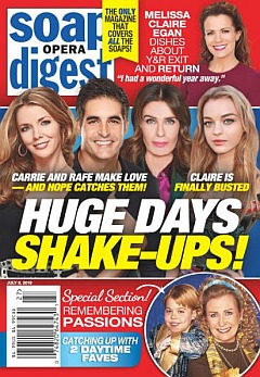July 8, 2019 Soap Opera Digest