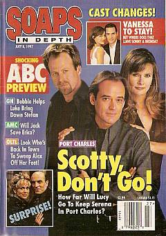 July 8, 1997 issue of ABC Soaps In Depth magazine