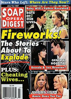 Soap Opera Digest - July 8, 1997
