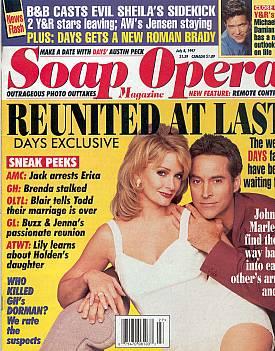 Soap Opera Magazine July 8, 1997