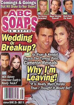 ABC Soaps In Depth July 9, 2002