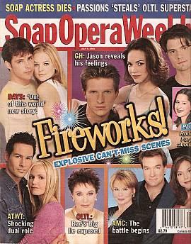 Soap Opera Weekly July 9, 2002