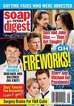 Soap Opera Digest July 9, 2012