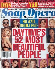 Soap Opera Magazine July 9, 1996