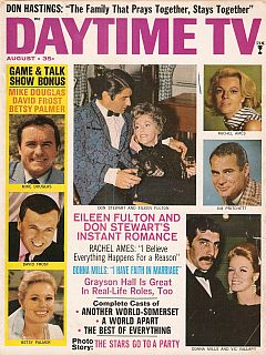 August 1970 issue of Daytime TV