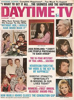August 1971 issue of Daytime TV