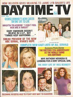 Daytime TV - August 1975