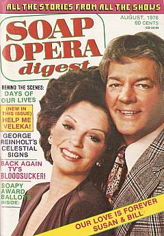 August 1976 issue of Soap Opera Digest