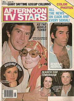 Afternoon TV Stars August 1977