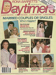 Rona Barrett's Daytimers August 1980