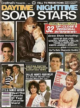 Daytime/Nighttime Soap Stars August 1986
