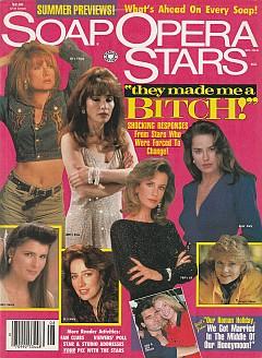 Soap Opera Stars August 1993