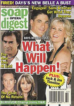 Soap Opera Digest Aug. 10, 2004