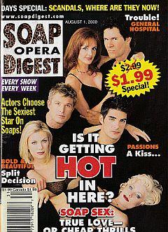 Soap Opera Digest - August 1, 2000
