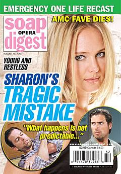 Soap Opera Digest August 10, 2010