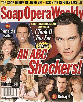 Soap Opera Weekly August 1, 2006