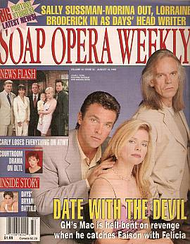 Soap Opera Weekly August 10, 1999