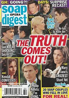 Soap Opera Digest August 11, 2009