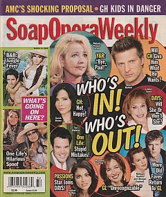 Soap Opera Weekly Aug. 11, 2009
