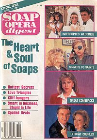 Soap Opera Digest August 11, 1987