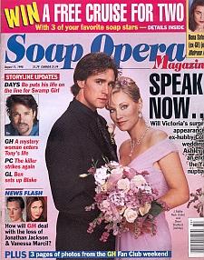 Soap Opera Magazine August 11, 1998