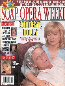 Soap Opera Weekly August 11, 1998