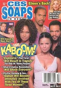 CBS Soaps In Depth August 12, 2003