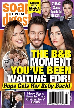Soap Opera Digest Aug. 12, 2019