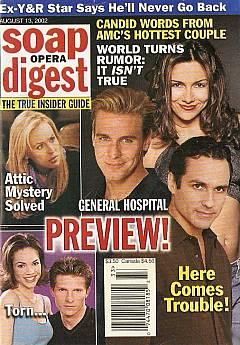 Soap Opera Digest Aug. 13, 2002