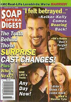Soap Opera Digest - August 13, 1996