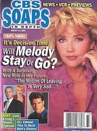 CBS Soaps In Depth August 14, 2001