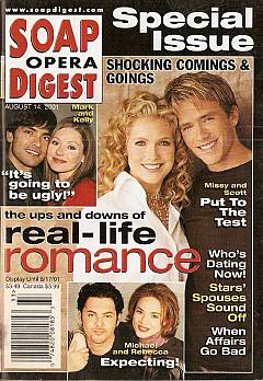 Soap Opera Digest Aug. 14, 2001