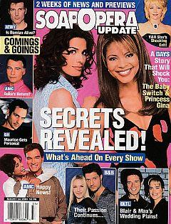 Soap Opera Update August 14, 2001